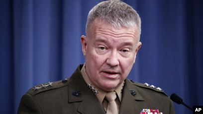 US Gen. Kenneth McKenziei