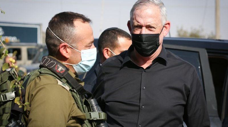 Gantz: Hamas is responsible, will pay, for twin-rocket attack on central, southern Israel