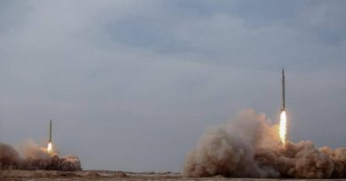 Iran test-fires anti-ship ballistic missiles in 3rd military exercise