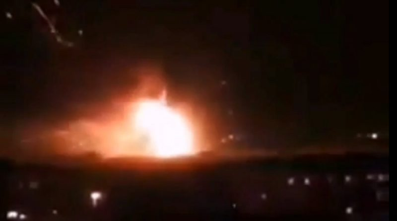Reported Israel air strikes keep up pressure on Iranian targets near Damascus