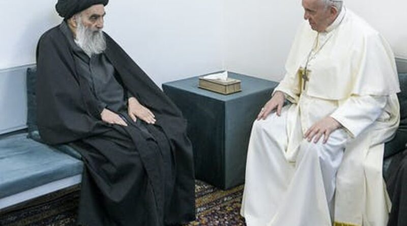 The Pope meets the Grand Ayatollah – in Iraq, not Iran