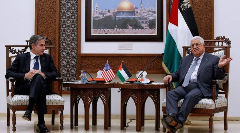 Blinken faces hurdles in US plans to mend Palestinian ties and aid Gaza. Israel at odds with US on Jerusalem, Iran