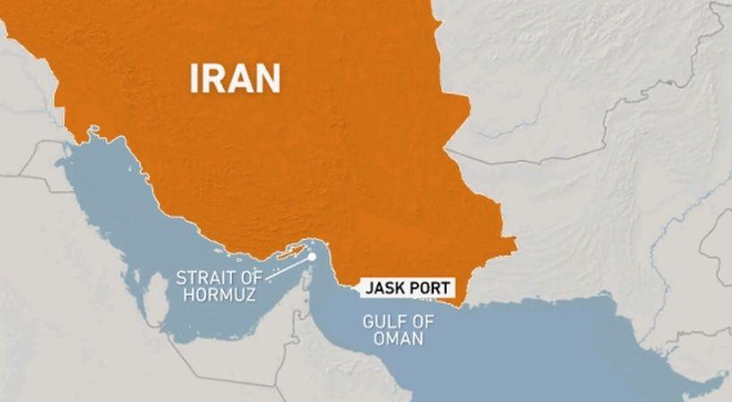 debka.com - Diane Shalem - Iran opens new oil terminal on Gulf of Oman to bypass Hormuz