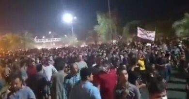 """Raging protests spread to Tehran with shouts: """"Clerics get lost!"""""""