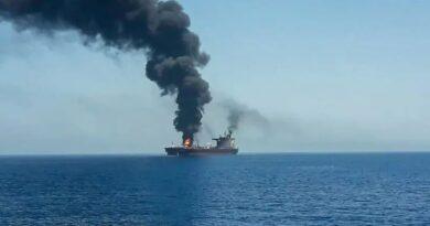 "First Iranian kamikaze drone against Israeli tanker. As tension rises, Gantz vows ""appropriate response"""