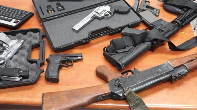 The Shin Bet's clean-up of illegal firearms  will help police curb galloping Israeli Arab homicidal crime