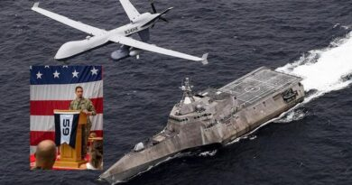US moves to Arabian Gulf a new robotic marine-air task force operated by AI